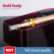 Rechargeable Nano Microneedling Machine Pen for Beauty Derma Therapy